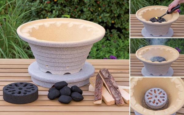 bratfeuer set denk keramik. Black Bedroom Furniture Sets. Home Design Ideas