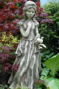 Statue schneewittchen antikstein - Schneewittchen gartenfigur ...