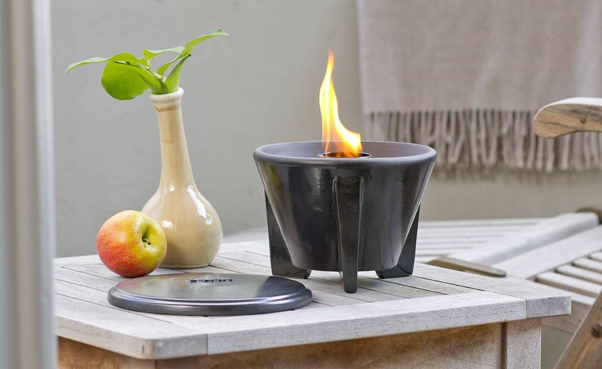 Schmelzfeuer outdoor CeraLava | DENK Keramik® | derGartenshop.de