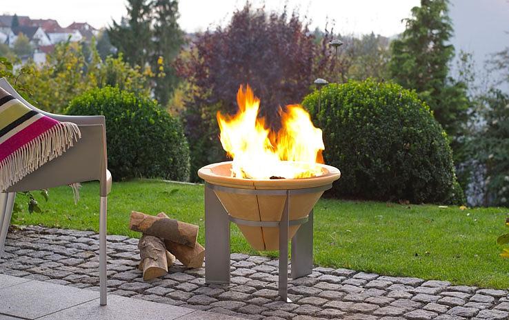 Feuerschale FEUERSPEICHER | DENK Keramik® | derGartenshop.de