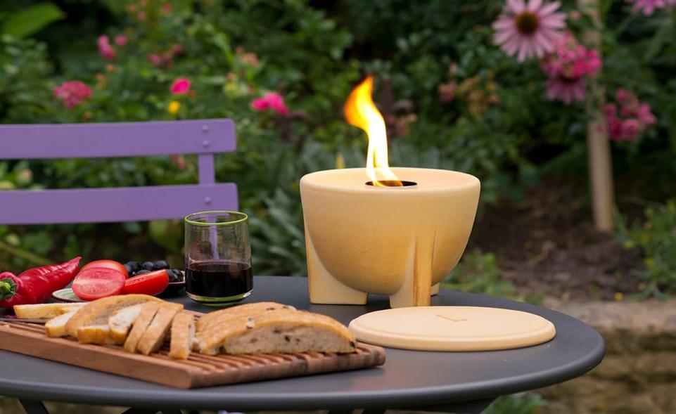 Schmelzfeuer outdoor CeraNatur | DENK Keramik® | derGartenshop.de
